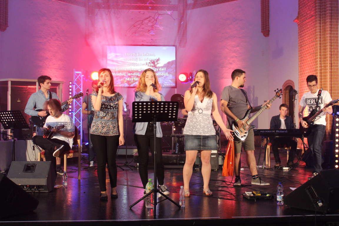 2017-ben is szolgáltunk a Kirchentagon!