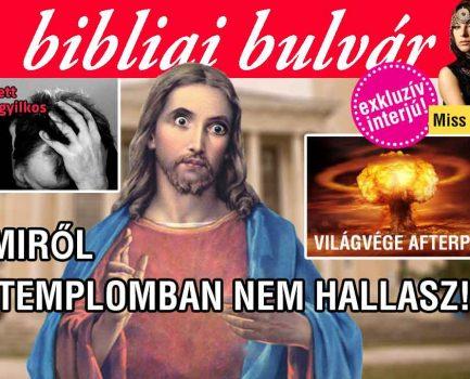 Istentisztelet-sorozat szokatlan bibliai történetekről